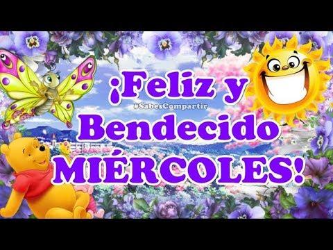 Desear y Compartir Buenos dias Feliz Miercoles